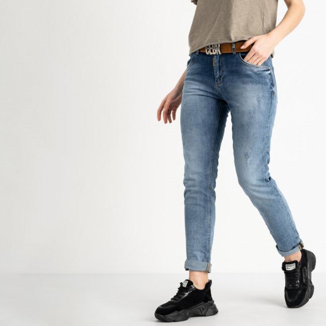 9478-B-7041 Colibri джинсы полубатальные женские темно-синие стрейчевые (7 ед. размеры: 28.29.30.31.32.32.33) Colibri: артикул 1118819