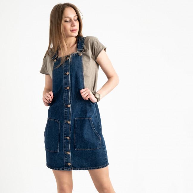 1168 Arox сарафан джинсовый синий котоновый ( 4 ед. размеры: 34/2.36.40) Arox: артикул 1122023