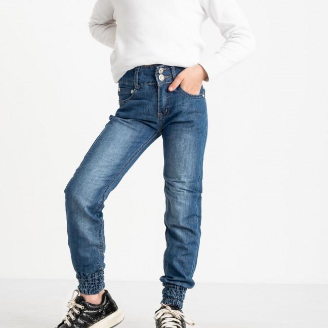 1906 Du Jin джинсы синие на девочку 6-11 лет котоновые(6 ед. размеры: 20.22.24.26.28.30) Du Jin: артикул 1120263