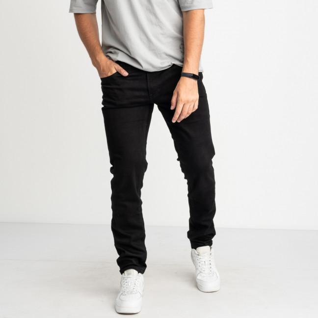 9955 God Baron джинсы черные стрейчевые (8 ед. размеры: 28.29.30.31/2.32.33.34) God Baron: артикул 1123641
