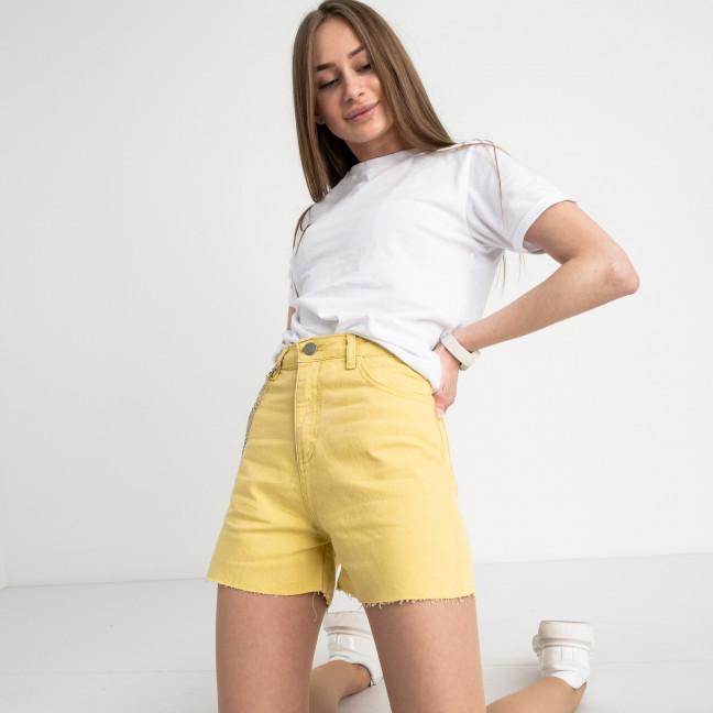 3374-6 Defile желтые шорты джинсовые котоновые ( 6 ед. размеры: 34.36/2.38/2.40) Defile: артикул 1122213