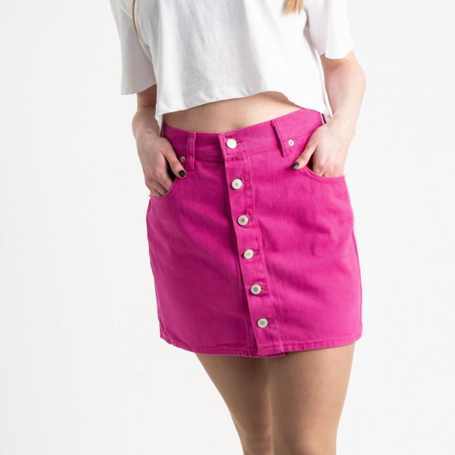 2854-2 XRay юбка на пуговицах розовая котоновая (6 ед. размеры: 34.34.36.36.38.40) XRAY: артикул 1118964