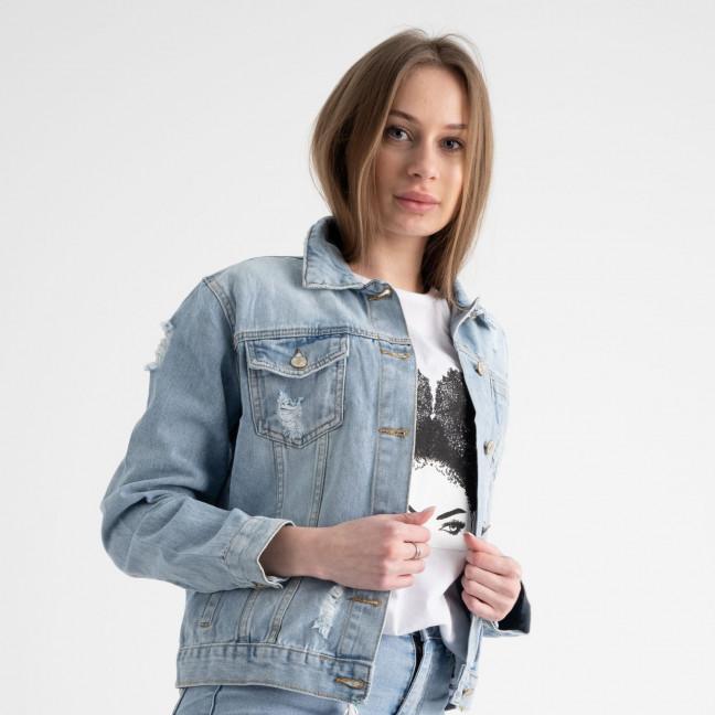 0653 New Jeans куртка джинсовая женская (6 ед. размеры: XS.S.M.L.XL.XXL) New Jeans: артикул 1117687