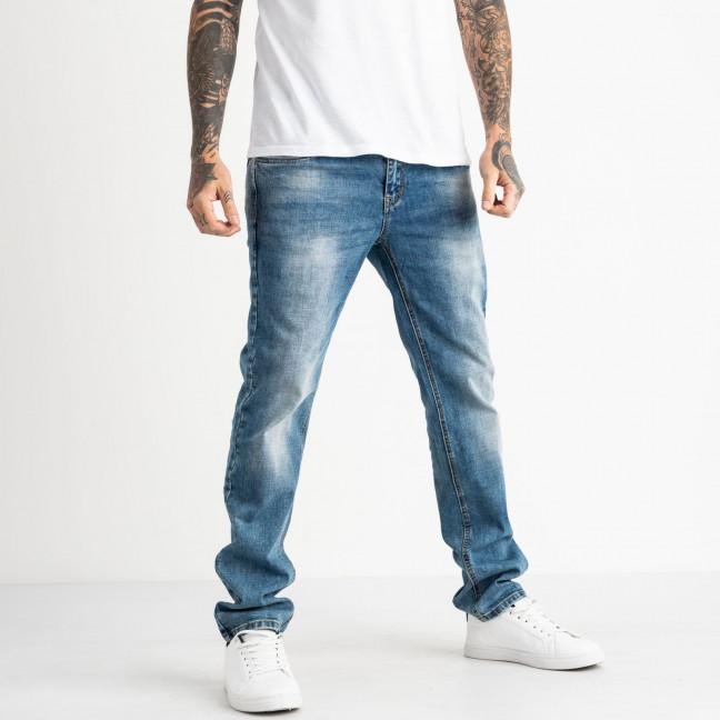 9485 God Baron джинсы мужские синие стрейчевые (8 ед. размеры: 29.30.31.32.33.34.36.38) God Baron: артикул 1119107
