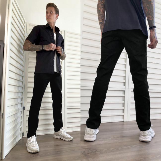 5019 Dsouaviet джинсы мужские на флисе черные зимние стрейчевые (29-38, 8 ед.) Dsouaviet: артикул 1115989
