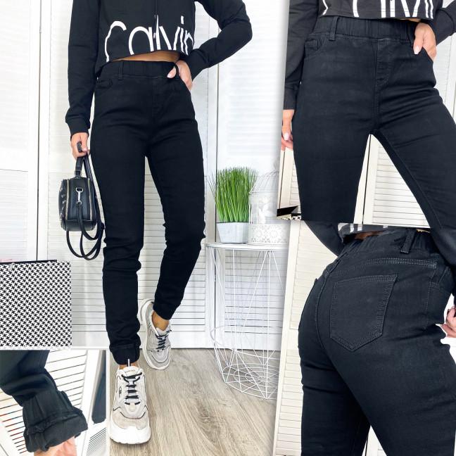 Джоггеры женские на флисе New Jeans 0566  New Jeans: артикул 1114007