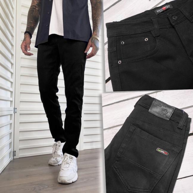 5000 Dsouaviet джинсы мужские на флисе черные зимние стрейчевые (29-38, 8 ед.) Dsouaviet: артикул 1117004
