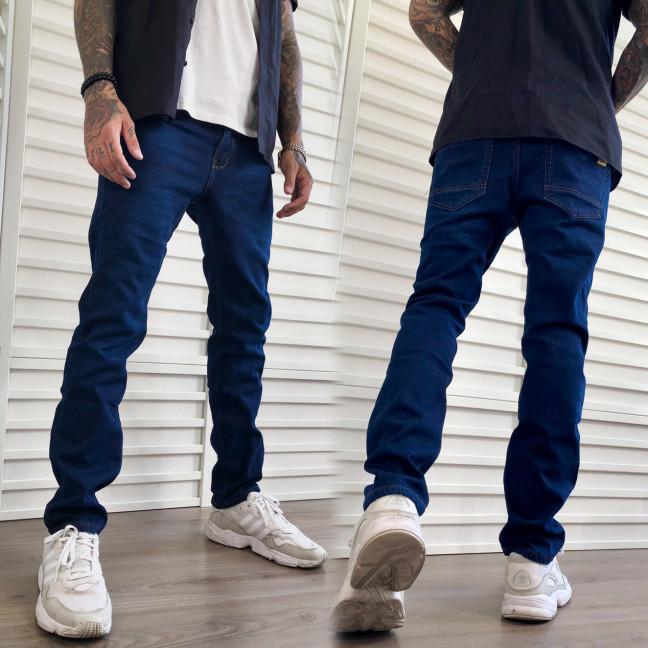 2079 Dsouaviet джинсы мужские на флисе синие зимние стрейчевые (29-38, 8 ед.) Dsouaviet: артикул 1115988