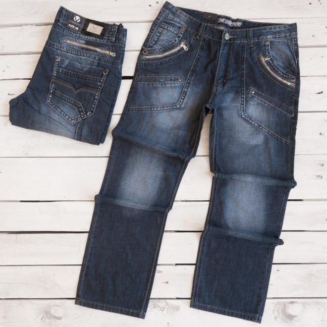 5836-3 Vigoocc джинсы мужские батальные синие осенние коттоновые (38-46, 6 ед.) Vigoocc: артикул 1112911