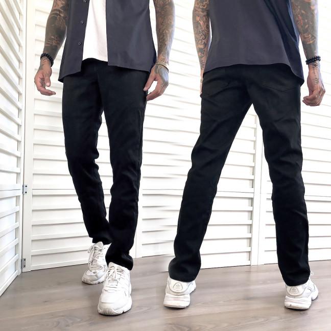 5009 Dsouaviet джинсы мужские черные на флисе зимние стрейчевые (29-38, 8 ед.) Dsouaviet: артикул 1102532