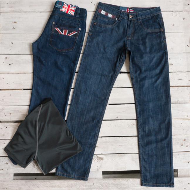 5920 Vigooc джинсы мужские синие осенние стрейчевые (31,32,33,34,38,40, 6 ед.) Vigoocc: артикул 1115999