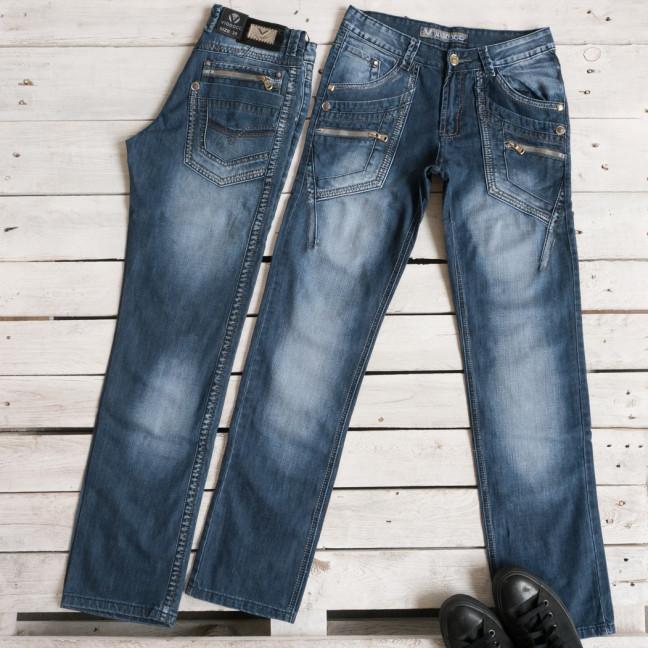 5807 Vigooc джинсы мужские молодежные синие осенние стрейчевые (28-34, 7 ед.) Vigoocc: артикул 1116000