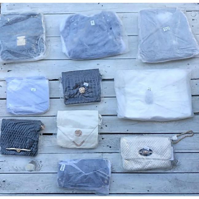 0400 лот женских сумок в фабричной упаковке (10 ед.) Сумка: артикул 1121396