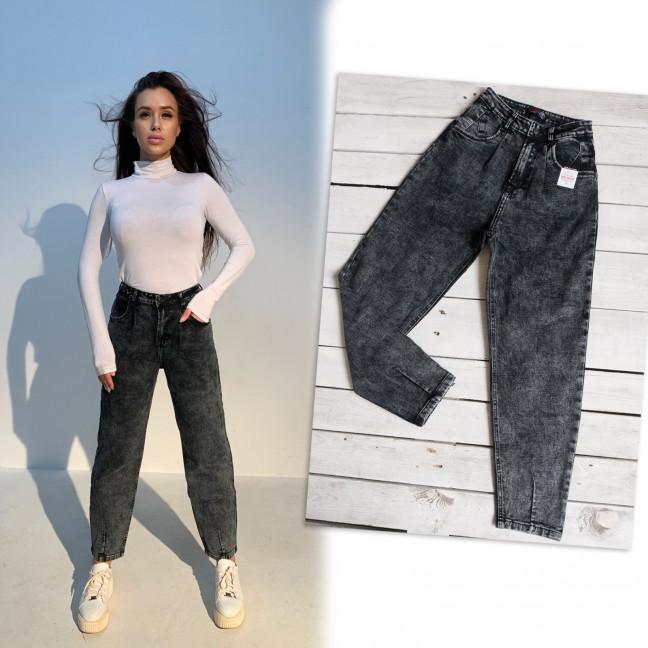 0601-7 Relucky джинсы-слоучи серые стрейчевые (6 ед. размеры: 25.26.27.28.29.30) Relucky: артикул 1116634