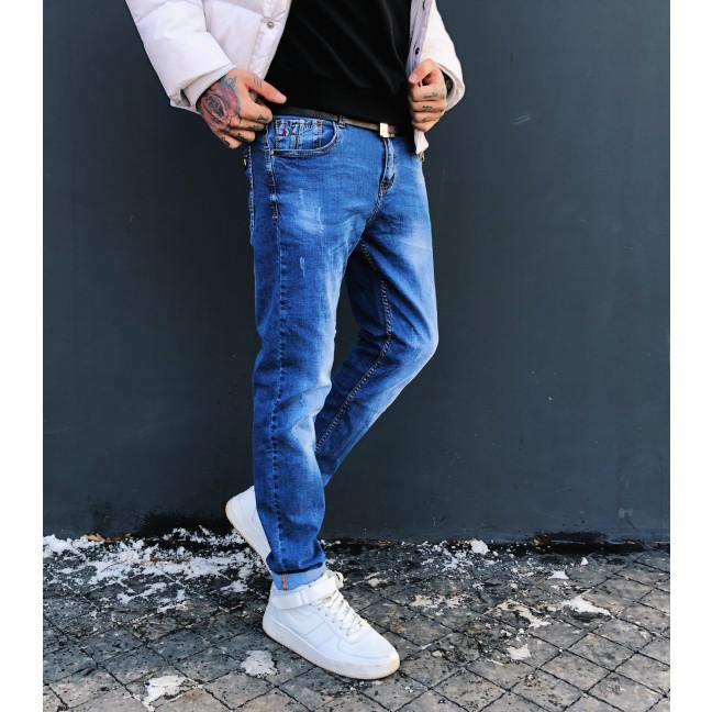 8024-01 Resalsa джинсы мужские молодежные с царапками весенние стрейчевые (27-3,28,29, 5 ед.) #лучшаяцена Resalsa: артикул 1090194