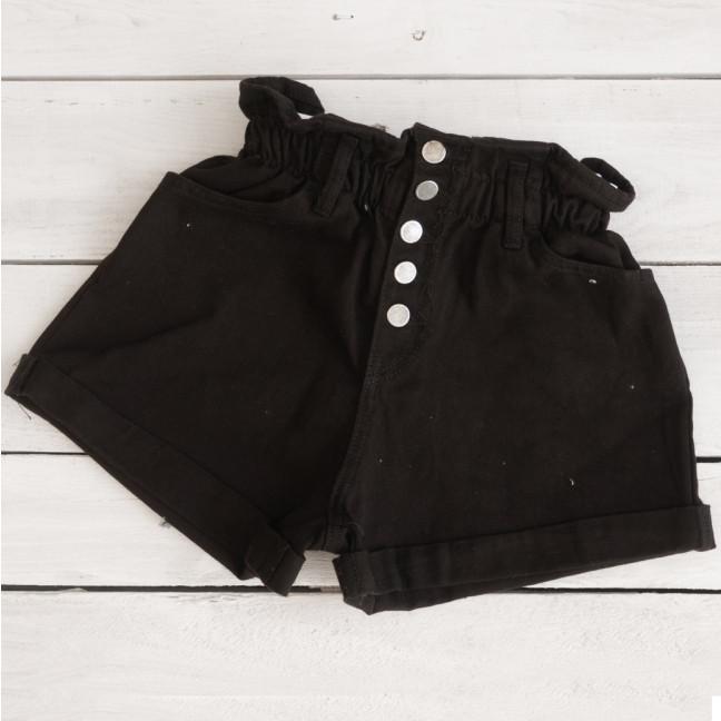 0226-9 черные Defile шорты джинсовые женские коттоновые (34-40,евро, 6 ед.) XRAY: артикул 1110426