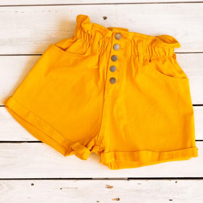 0226-2 манго Defile шорты джинсовые женские на резинке коттоновые (34-40,евро, 6 ед.) Defile: артикул 1110668