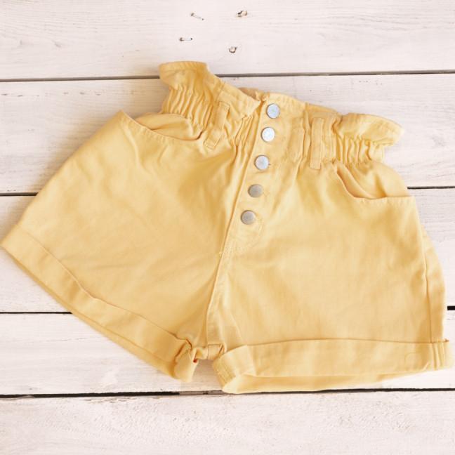 0226-6 песочные Defile шорты джинсовые женские на резинке коттоновые (34-40,евро, 6 ед.) Defile: артикул 1110676