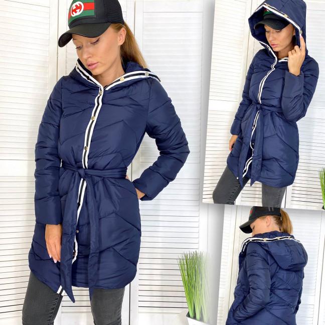 5257-4 темно-синяя Snow Passion куртка женская на утеплителе зимняя (36,38,40,42, евро, 4 ед.) Snow Passion: артикул 1111848