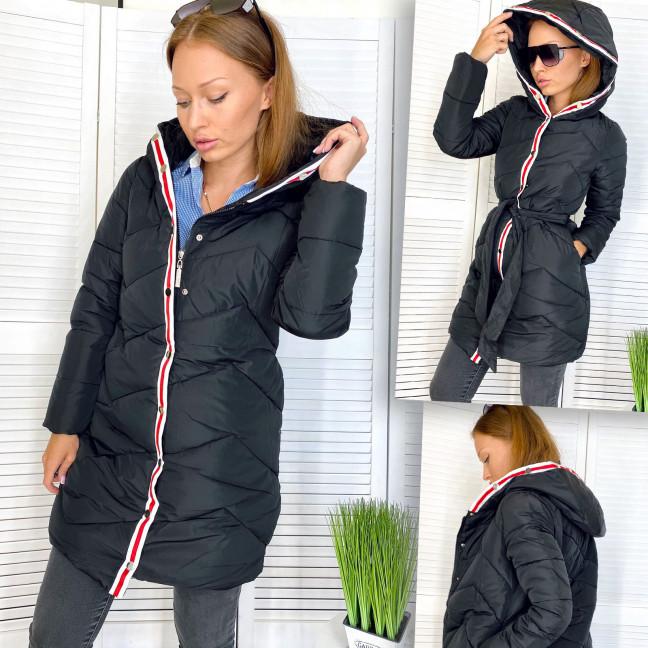 5257-1 черная Snow Passion куртка женская на утеплителе зимняя (36,38,40,42, евро, 4 ед.) Snow Passion: артикул 1111847