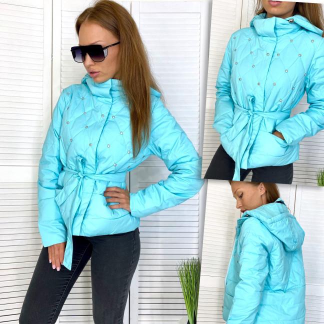 98501-4 голубая RuYiXue куртка женская осенняя (М-2XL, 4 ед.) RuYiXue: артикул 1111497