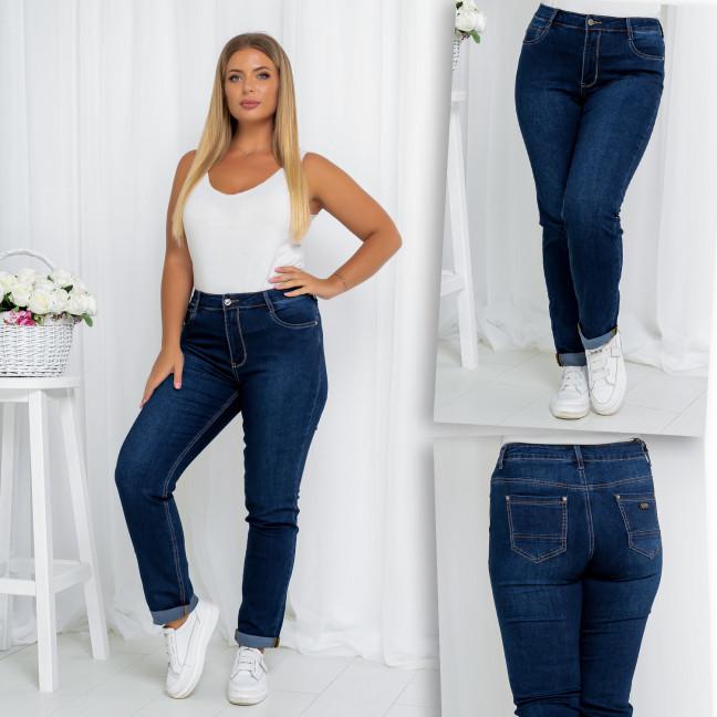 0312-01 Lelena джинсы женские батальные осенние стрейчевые (31,31,32, 3 ед.) Lelena: артикул 1115759