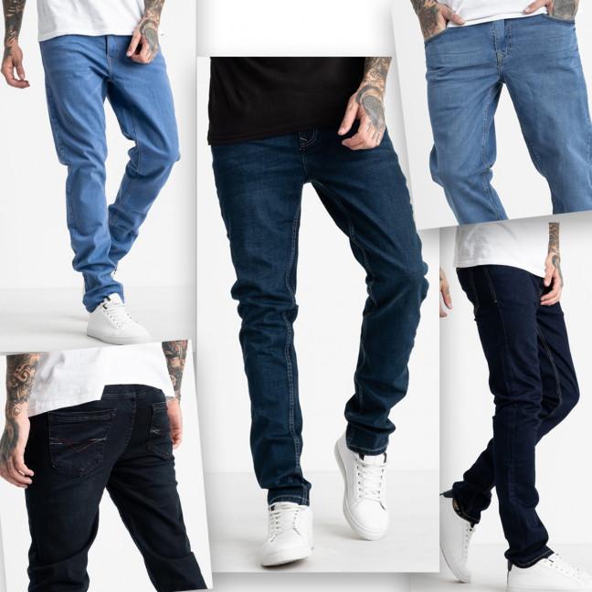 1999-3 Nescoly джинсы мужские стрейчевые микс моделей и цветов  (6 ед. размеры: 30/3.34/2.36) Nescoly: артикул 1124357