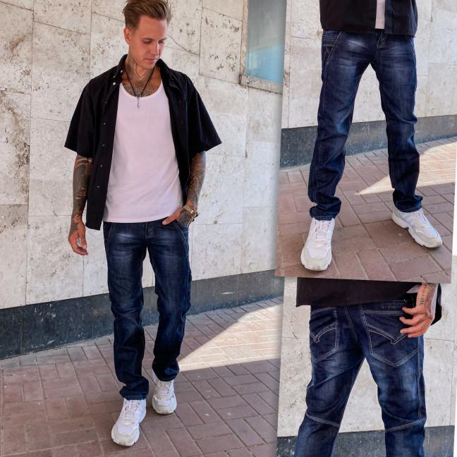 882818-2 СK джинсы мужские темно-синие осенние котоновые (29-36, 7 ед.) CK: артикул 1112736