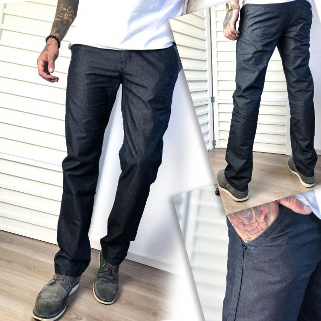 5888 Vigoocc брюки мужские молодежные черные осенние котоновые (28-34, 7 ед.) Vigoocc: артикул 1112791
