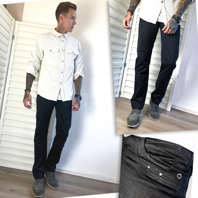 5815-04 Vigoocc джинсы мужские черные осенние котоновые (29,29,34,36, 4 ед.) Vigoocc: артикул 1114196