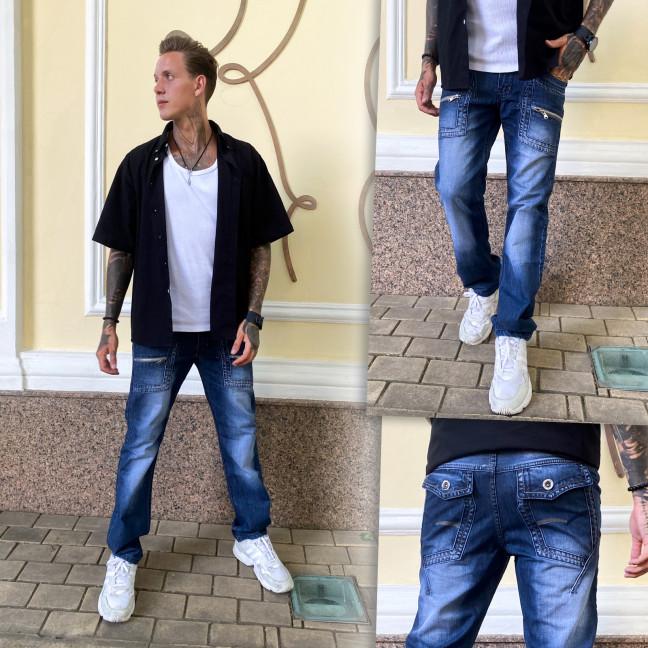 5813-2 Vigoocc джинсы мужские молодежные осенние котоновые (28-34, 7 ед.) Vigoocc: артикул 1113317