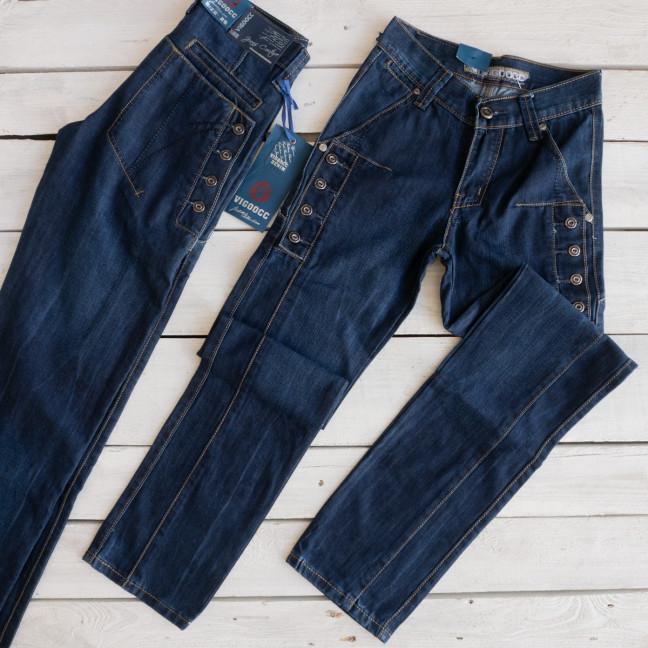 3249-03 Vigoocc джинсы на мальчика с декоративной отделкой осенние котоновые (24,29,30, 3 ед.) Vigoocc: артикул 1113857