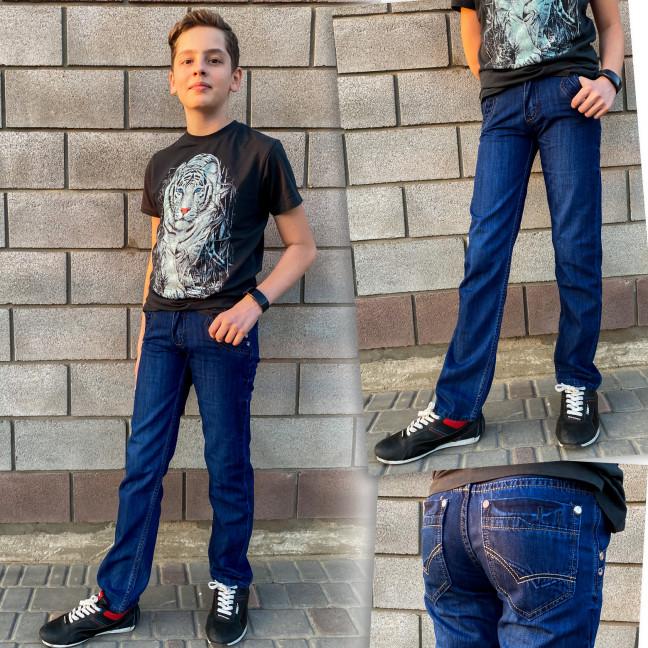 3278 Vigoocc джинсы на мальчика синие осенние котоновые (24-30, 7 ед.) Vigoocc: артикул 1114361