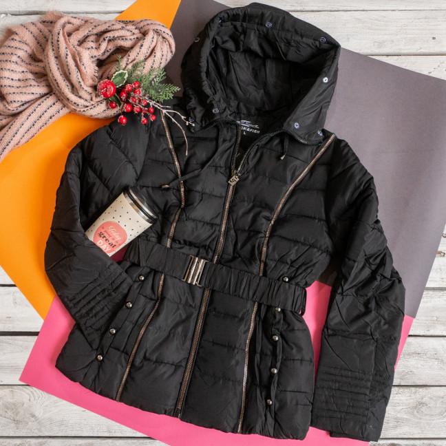 899091 черная FDPP куртка женская демисезонная (M,L,L,3XL,3XL, 5 ед.) FDPP: артикул 1114920