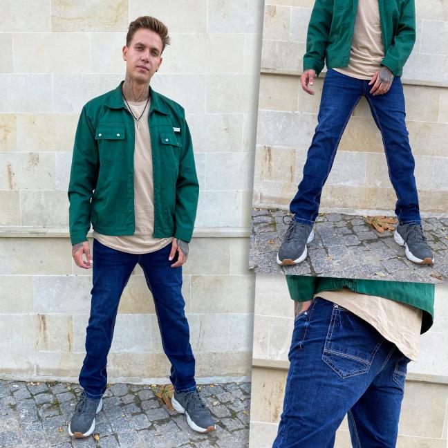 0501-5 Relucky джинсы мужские полубатальные синие стрейчевые (8 ед. размеры: 31.32.33.33.34.34.36.38.) Relucky: артикул 1115101
