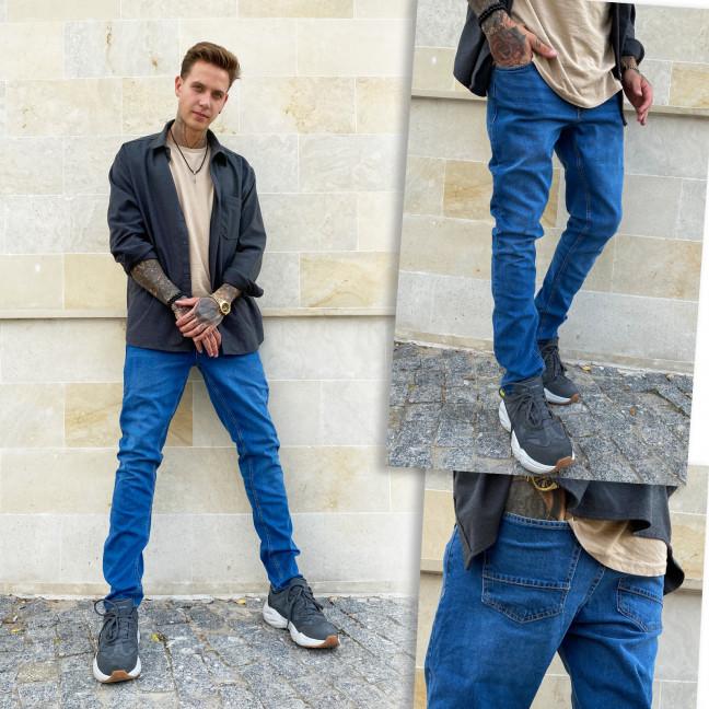 2020-1-01 Nescoly джинсы мужские осенние стрейчевые (30,32,34,38,40, 5 ед.) Nescoly: артикул 1115464