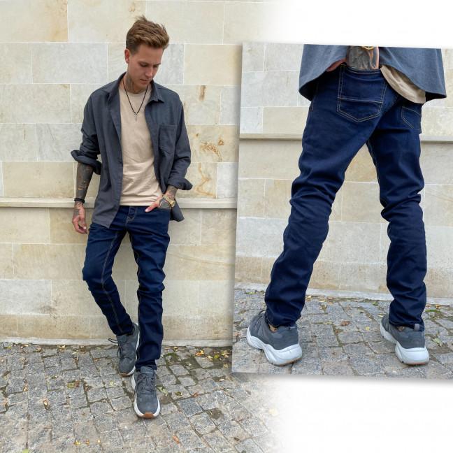 2004 Big&Grays джинсы мужские синие осенние стрейчевые (размер 38) Big&Grays: артикул 1115470
