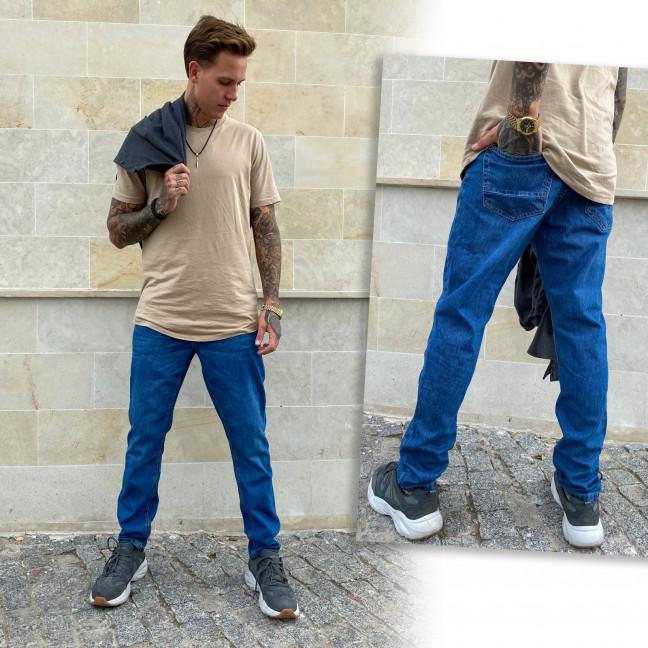 2005-1 Big&Grays джинсы мужские синие осенние стрейчевые (30,31,32,32,34,34,36,38, 8 ед.) Big&Grays: артикул 1115467