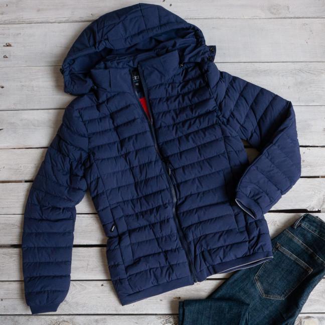 5877-4 RZZ мужская синяя куртка плащевка демисезонная (48-56, 5ед.) RZZ: артикул 1116208