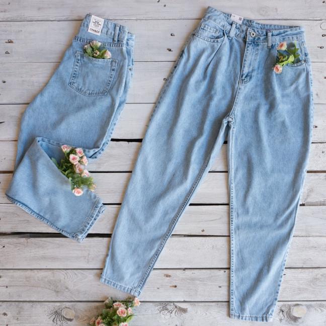 85761-01 Ondi джинсы-баллоны котоновые (38,38,40,42, евро, 4 ед.) Ondi: артикул 1116310