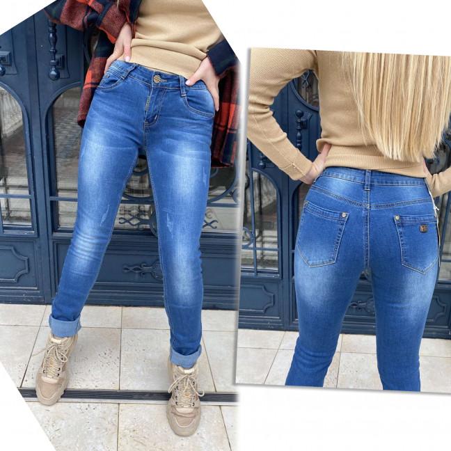 8131 X&D джинсы женские синие стрейчевые (6 ед. размеры: 25.26.27.28.29.30) X&D : артикул 1117300