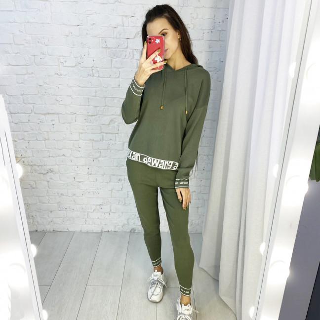 2101-1 M.K.Store зеленый спортивный костюм женский (3 ед.размеры: универсал 44-48) M.K.Store: артикул 1125355
