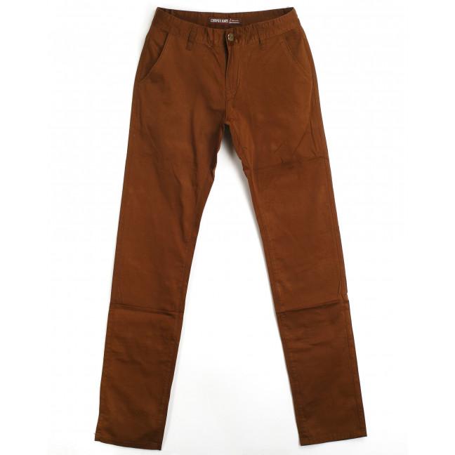 брюки мужские приуженные коричневые 87017 (29-38, 8 ед.) Compax Compax: артикул 1064212