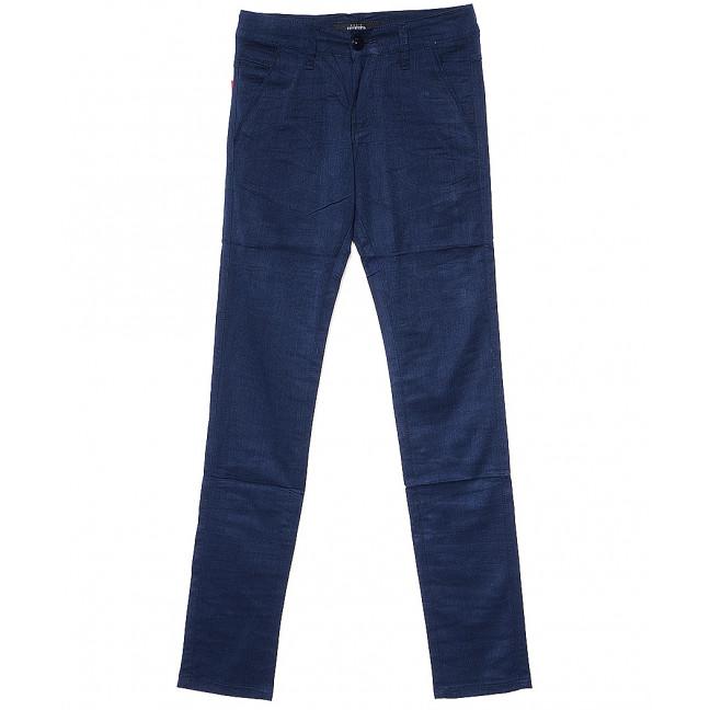 0018-115 синие Feerars (27-34, молодежка, 8 ед.) брюки мужские осенние незначительно тянутся Feerars: артикул 1081912