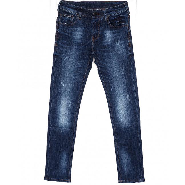 1034 Armani джинсы мужские с царапками терка осенние стрейч - котон (29-38, 10 ед.) Armani: артикул 1086512