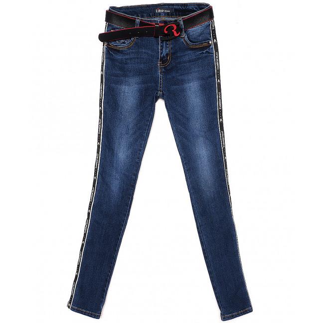 6036 Like джинсы женские с лампасами весенние стрейчевые (25-30, 6 ед.) Like: артикул 1087799