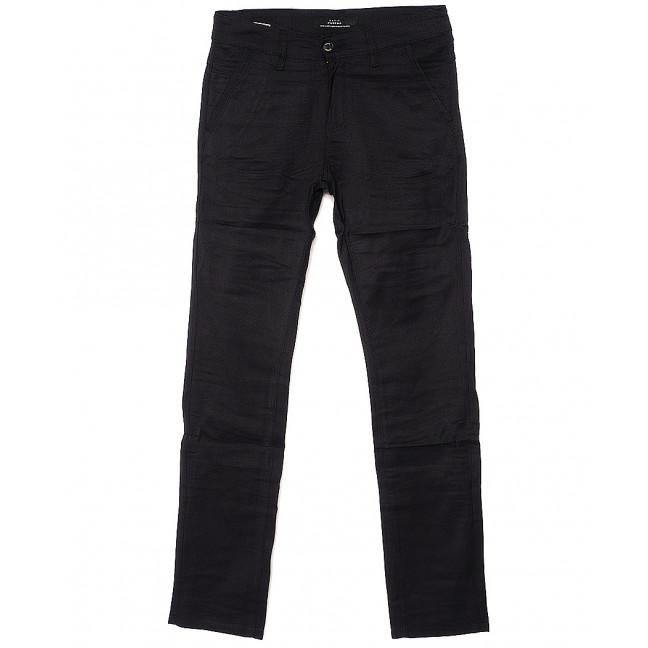 0365-1 Pobeda брюки мужские молодежные черные весенние стрейчевые (27-34, 8 ед.) Pobeda: артикул 1088389