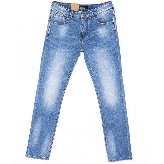 2077 Fang джинсы мужские с теркой весенние стрейчевые (30-38, 8 ед.) Fang: артикул 1087823