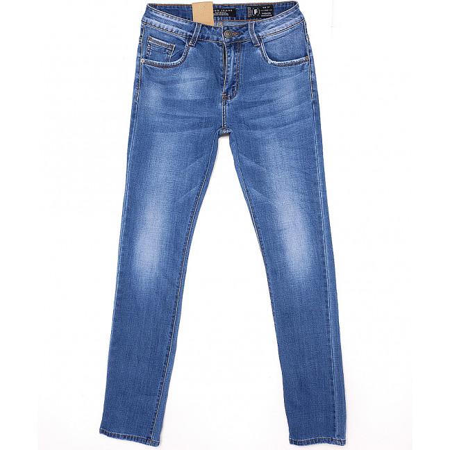 2091 Fang джинсы мужские зауженные весенние стрейчевые (30-38, 8 ед.) Fang: артикул 1087813