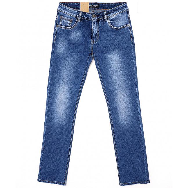 2060 Fang джинсы мужские классические с теркой весенние стрейчевые (30-38, 8 ед.) Fang: артикул 1087814